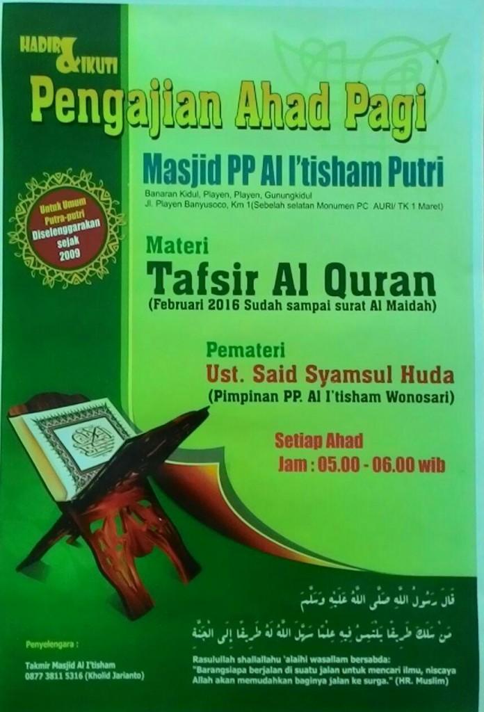 Kajian Islam Gunungkidul
